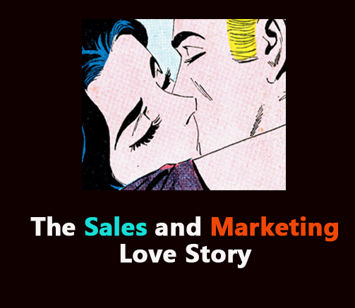 sales and marketing love story